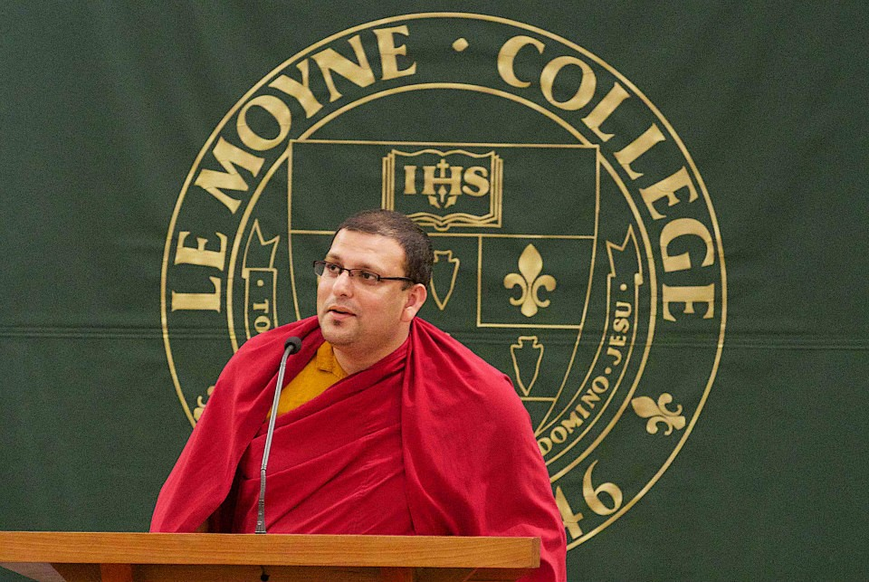HEADE UUDISTE PORTAALI LUGEJATELE REGISTREERIMINE ALANUD! Tiibeti munk ja õpetlane seob loengus kaasaja eetika ja Buddha tarkused