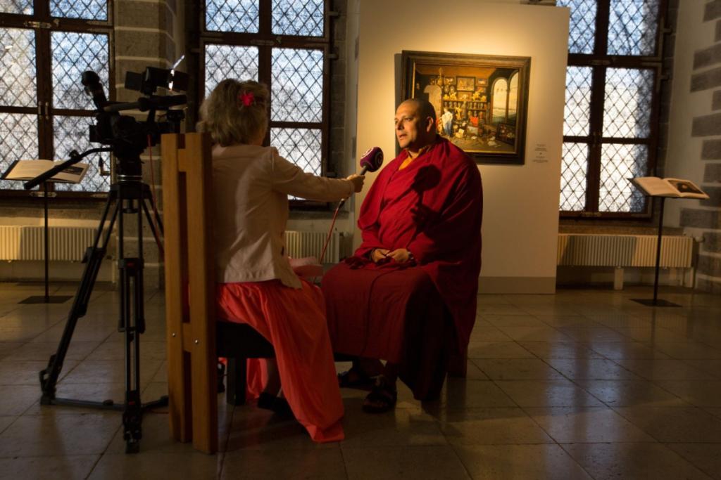 EKSKLUSIIVNE INTERVJUU TÄNA TV3-s! Erakordne Tiibeti munk Tenzin Priyadarshi Rinpoche jagab oma sõnumit