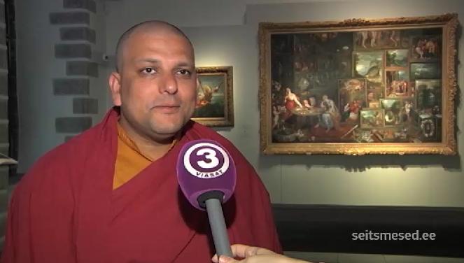 TV3 SEITSMESED! RAHUSAADIK EESTIS! Auväärne Tiibeti munk kutsub sallivusele, dialoogile ja näost näkku suhtlemisele