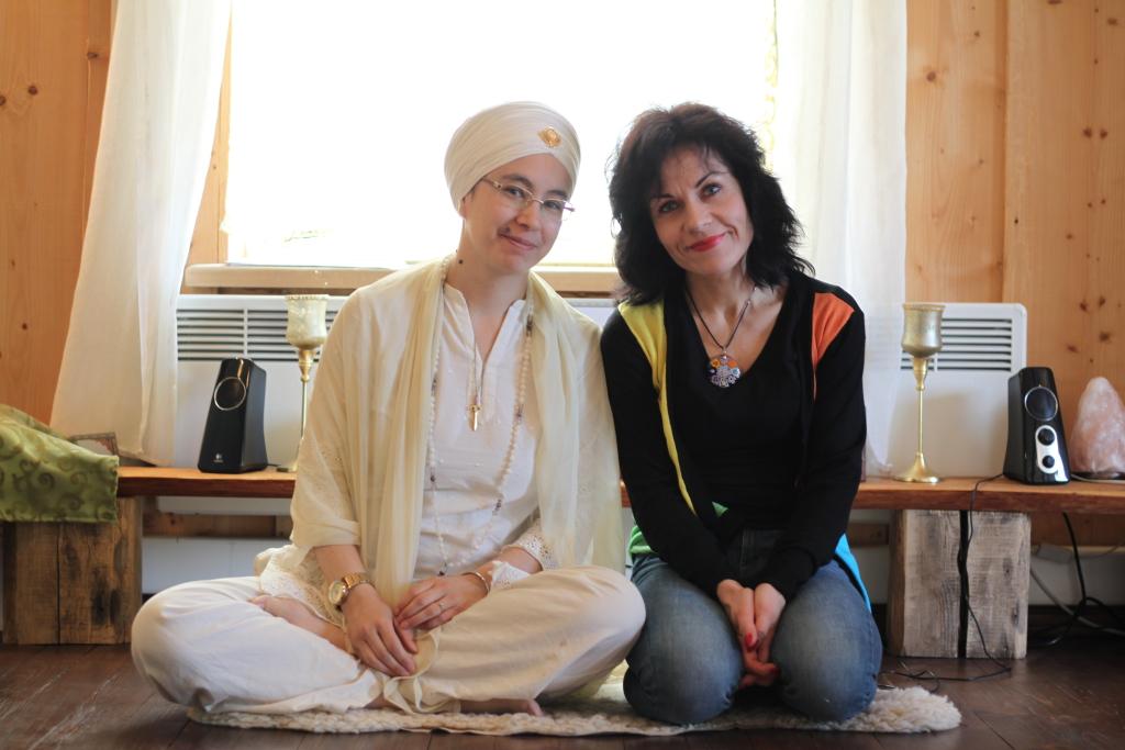 Sukhdev Kaur ja Riina Reiman