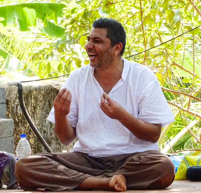 Joogafestivali peaesineja Ananda Das: elamise rõõm sõltub sellest kui palju me oleme valmis elus tingimusteta armastama ja naerma
