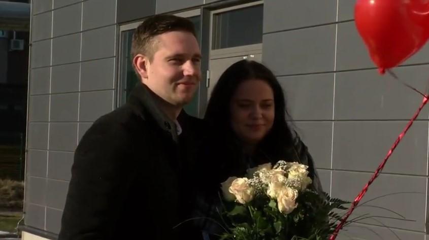 Video armunutest! Tallinna Televisioon aitas Alen Vezikoga korraldada armunute sõbrapäevaüllatuse