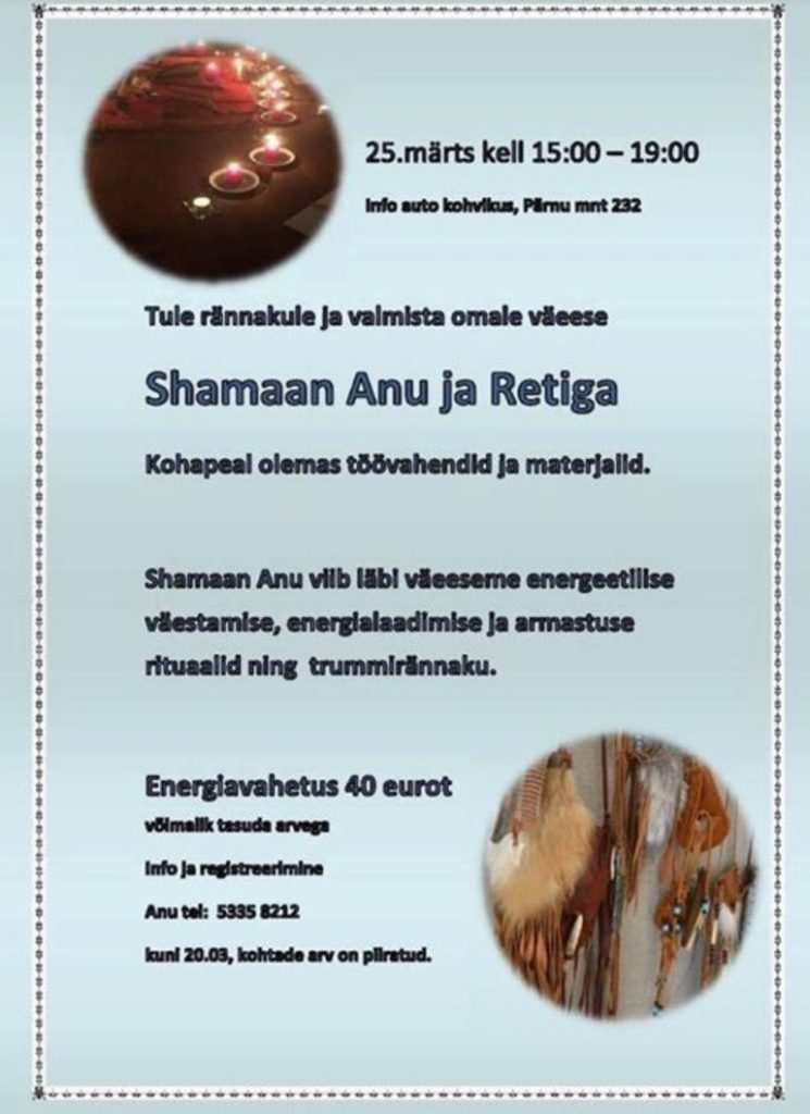 Shamaan Anu ja Retiga