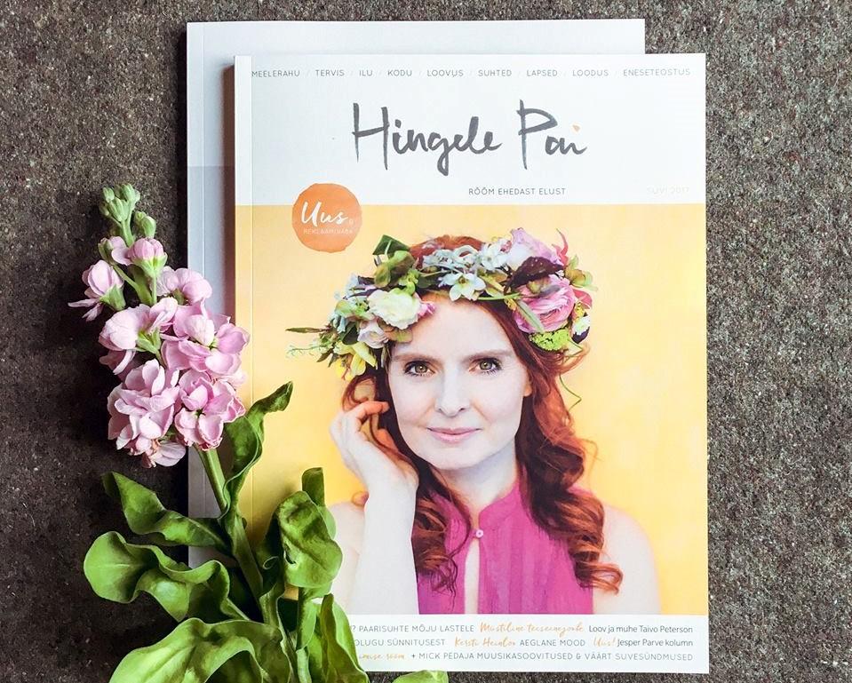 """Uue ajakirja """"Hingele Pai"""" värske suvenumber inspireerib täisväärtuslikult elama"""