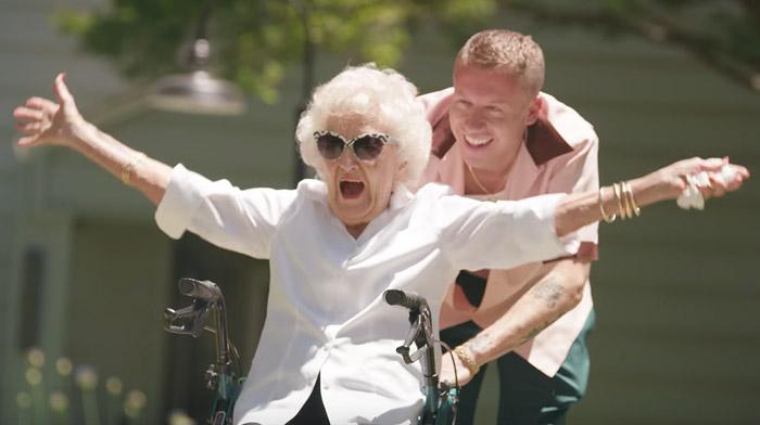 Ilus video, mis võib ajada nutma! Macklemore avaldas muusikavideo oma 100-aastase vanaemaga