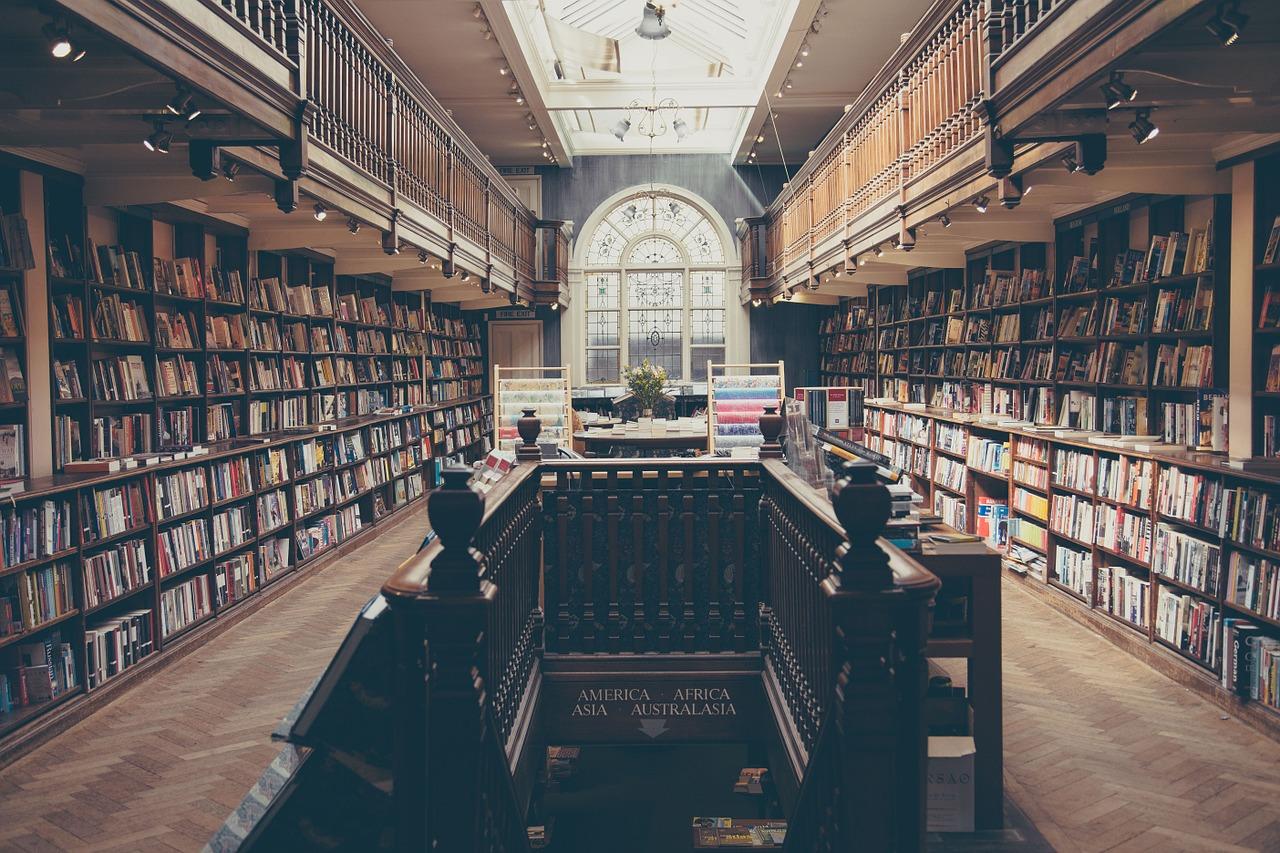 raamatukogu.Pixabay