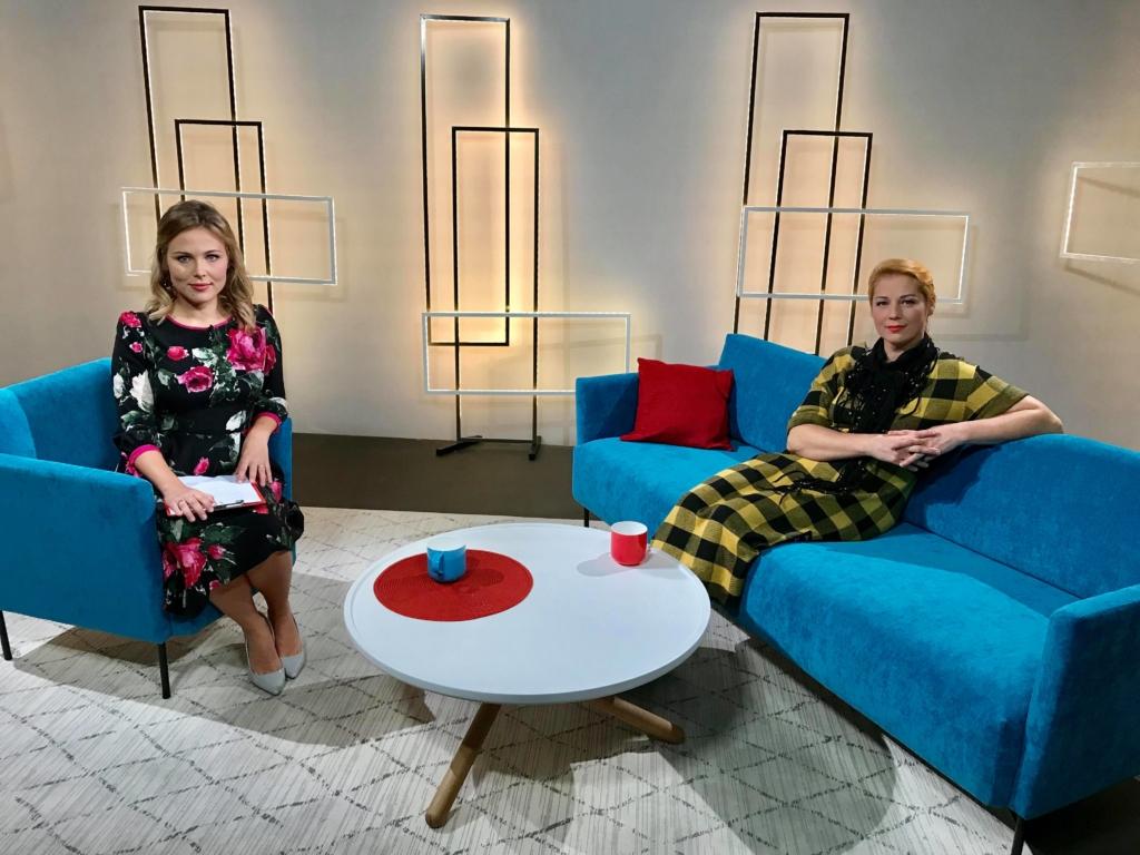 Lea Dali Lion ja Kadri Pikhof TV3