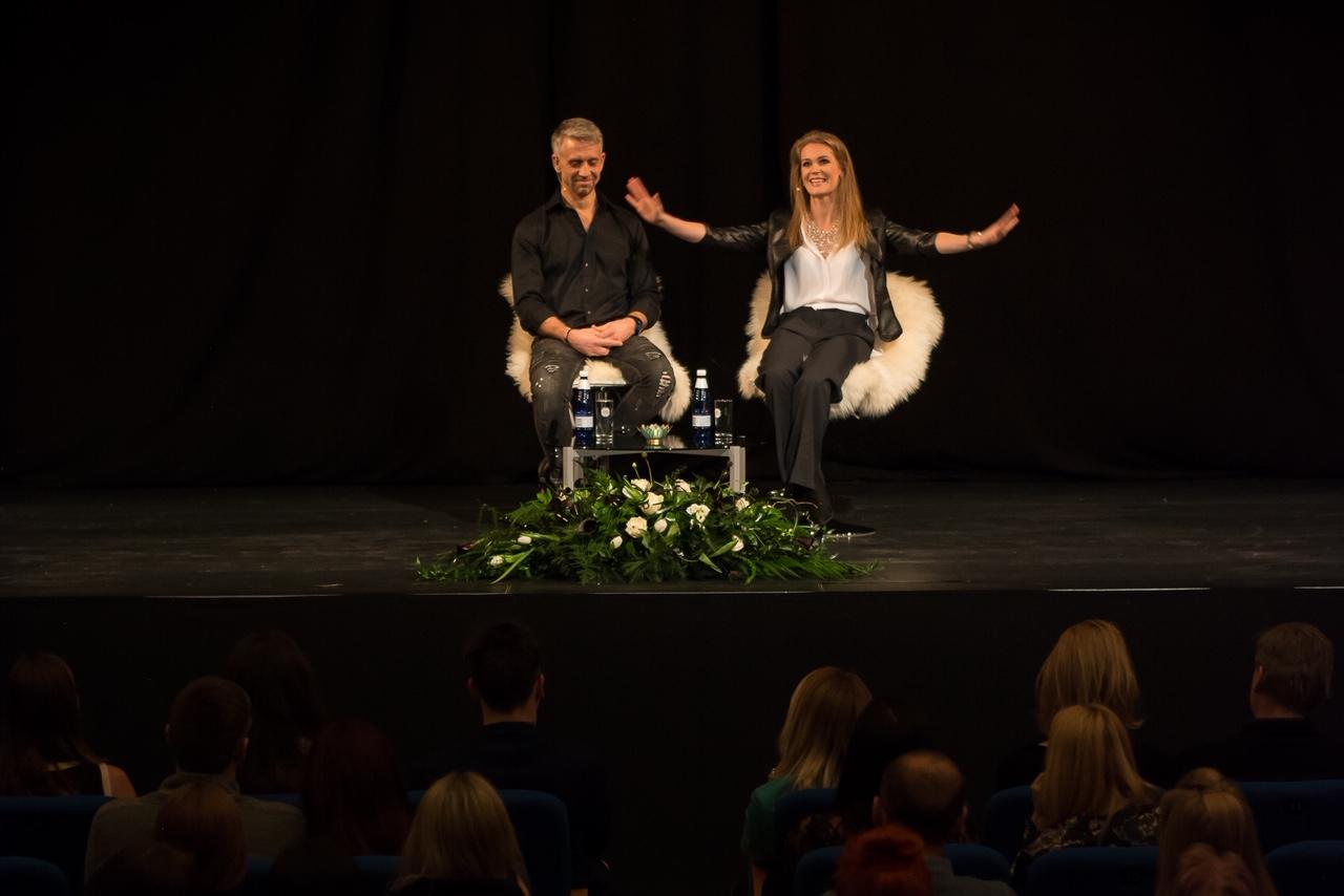 Epp Kärsin vestlusõhtust Tiit Trofimoviga: oli intiimne ja siiralt aus