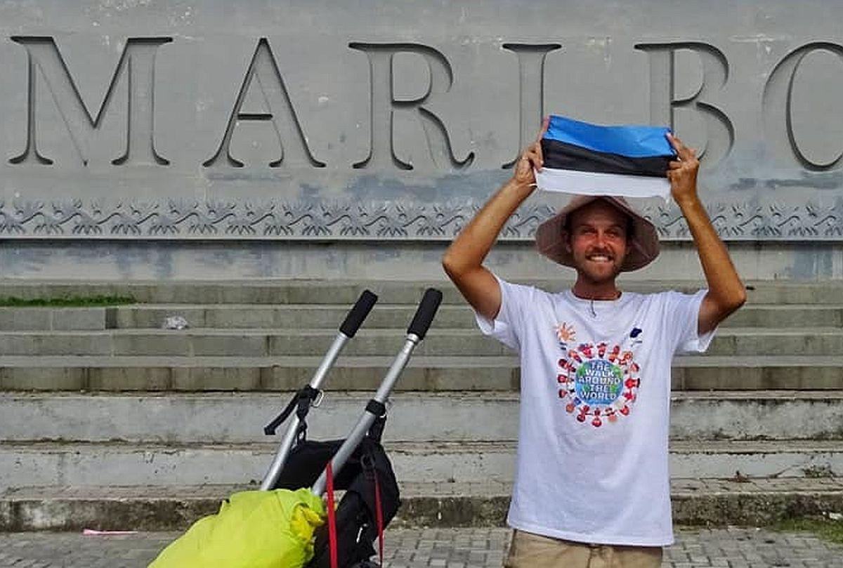 Maailmarändur Meigo Märk teeb aastase pausi