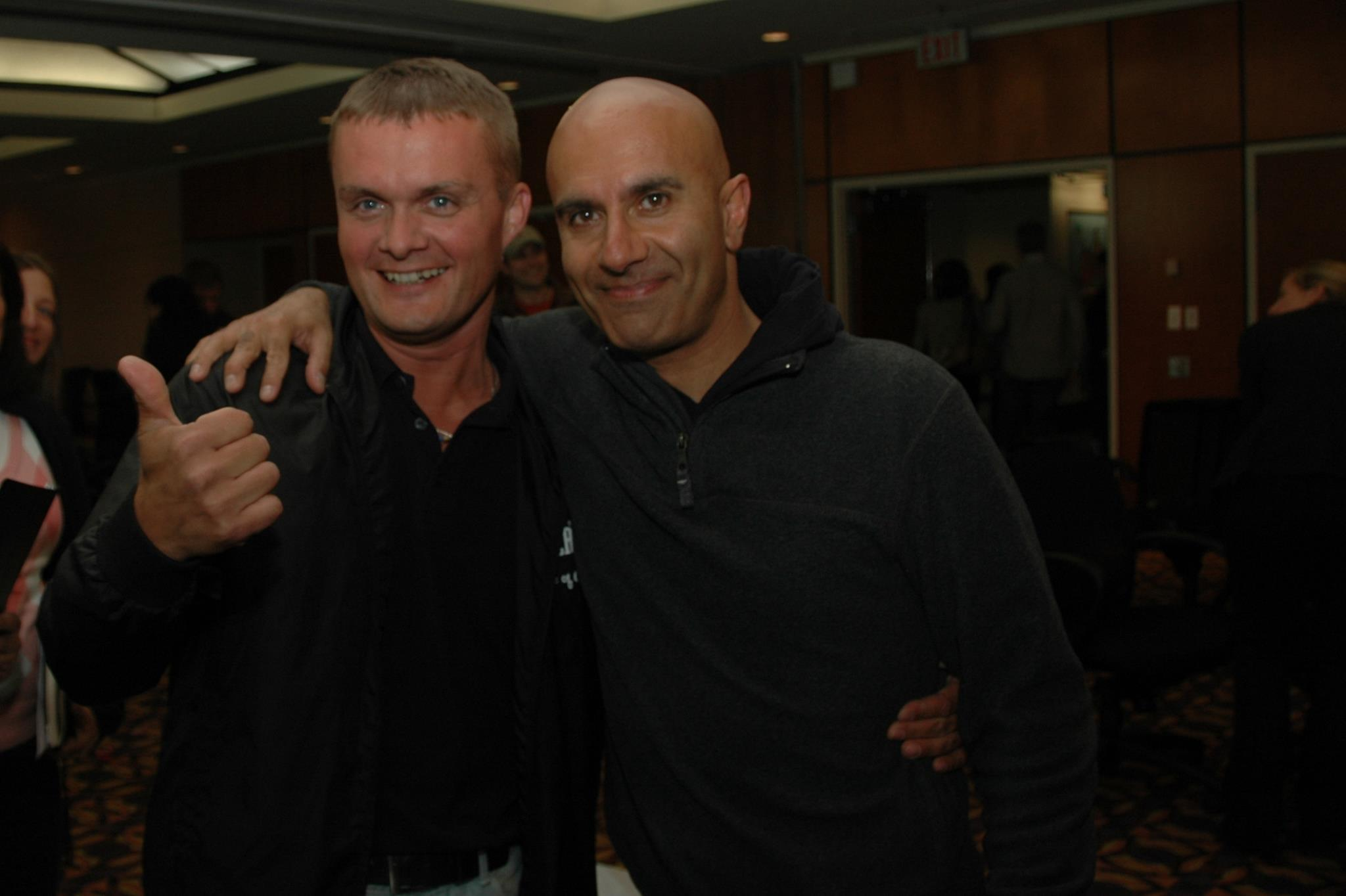 Anti Roosiaas ja Robin Sharma
