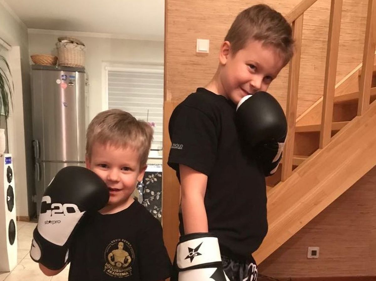 Vennad Lõvisüdamed: suurem võitleb poksiringis, väiksem leukeemiaga
