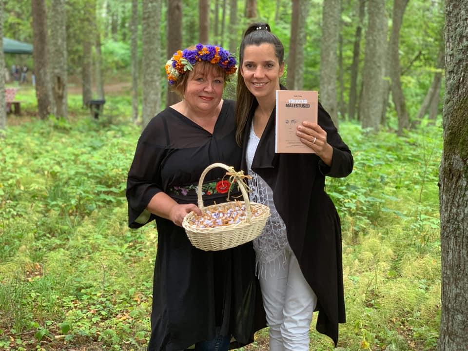 Imbi Paju ja Monika Maria Kuzmina