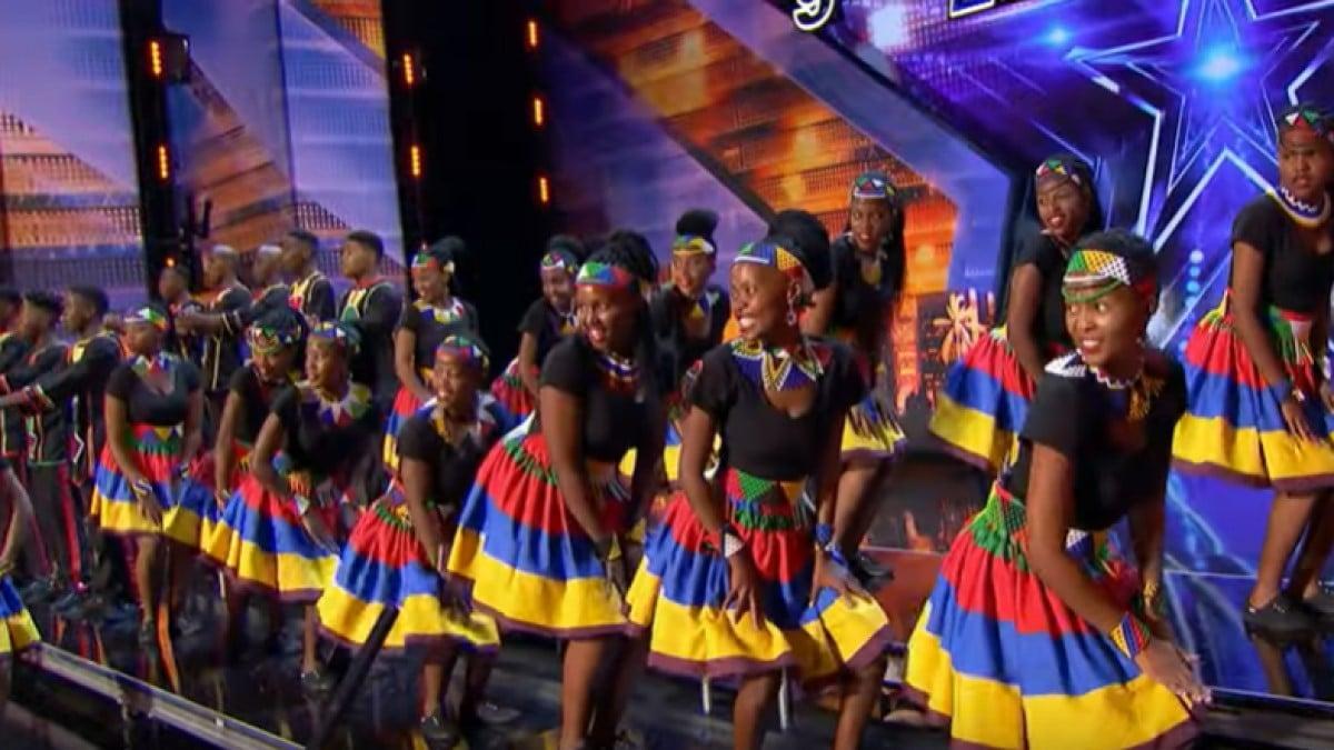 "IMELINE VIDEO! Lõuna-Aafrika noortekoor saates ""America's Got Talent"""